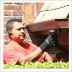 downspouts cleaning & repair