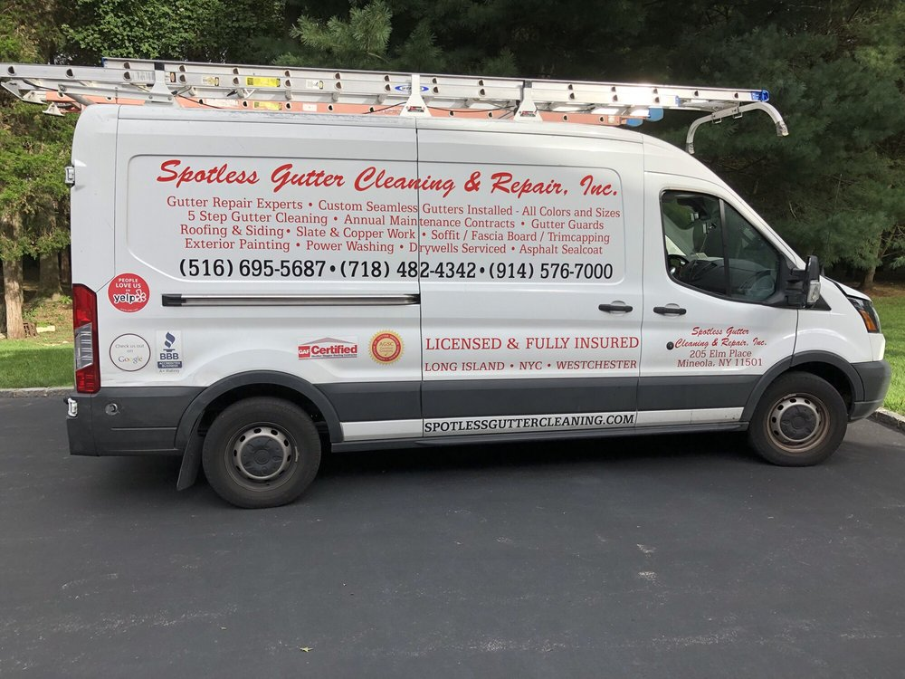 gutter cleaning, repair and installations company in Suffolk County