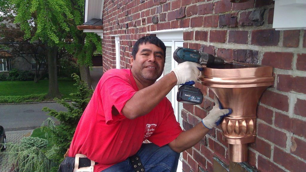 seamless gutter installation, gutter cleaning and repair