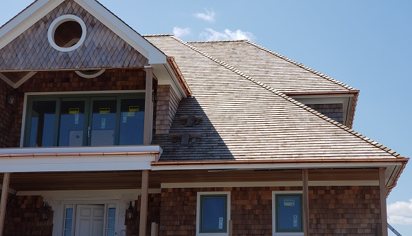copper gutter repair & installation Long Island, NY