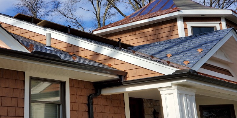 Long Island gutter repair by Spotless